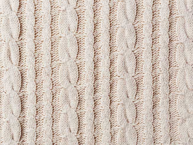 Cable Knit Fabric